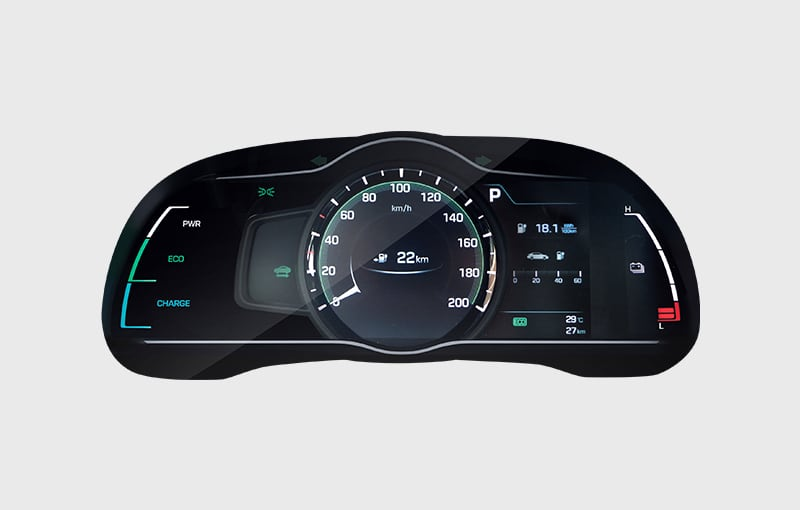 The digital instrument cluster